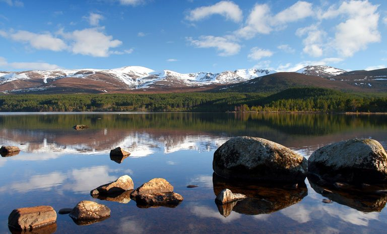 cairngorms stunning scenery mobile