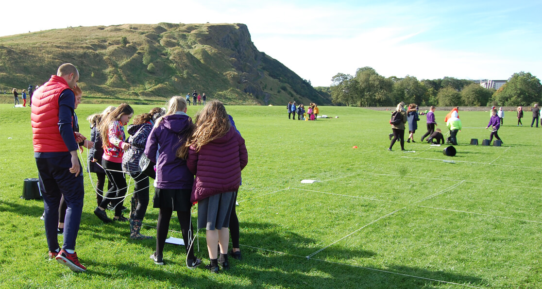Outdoor Learning at Holyrood Park